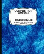 Details for Composition Notebook : Blue Marble, College Ruled, Lined Composition Notebook